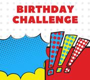 birthday challenge enewsletter