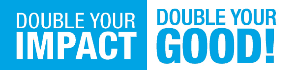 Double Your Donation Banner