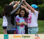 brainy camps logos